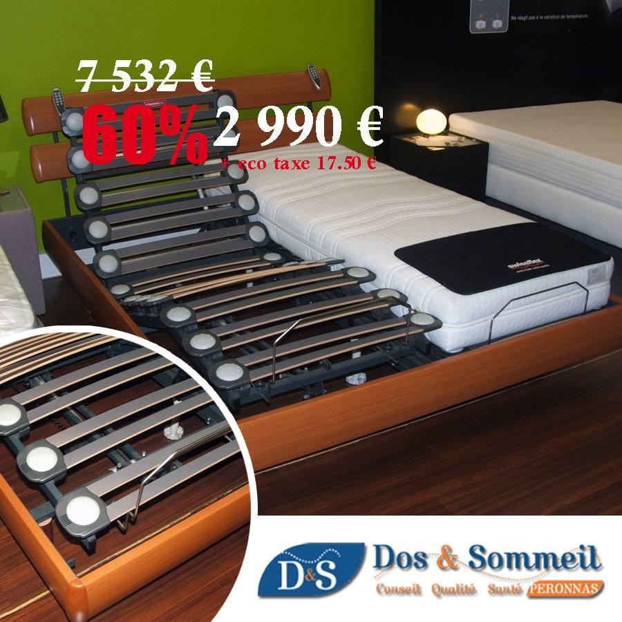 dos sommeil soldes d 39 hiver magasin literie dos sommeil. Black Bedroom Furniture Sets. Home Design Ideas
