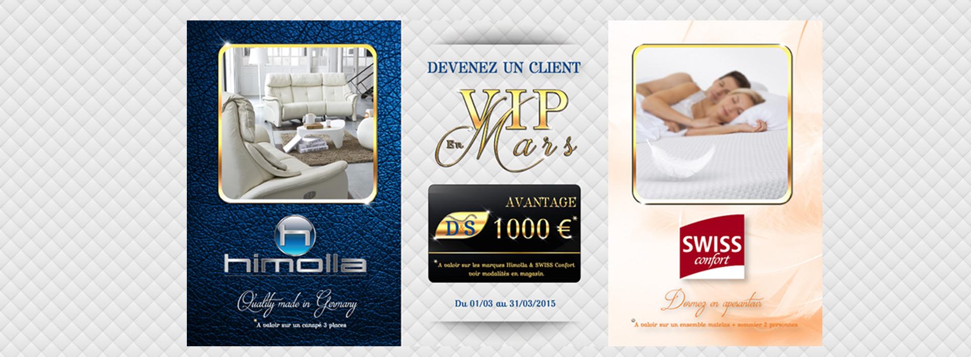 Devenez un client VIP