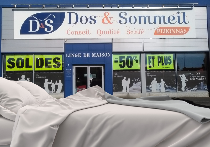 soldes magasin literie bourg en bresse dos sommeil. Black Bedroom Furniture Sets. Home Design Ideas