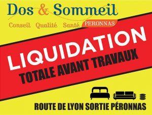 liquidation totale avant travaux peronnas